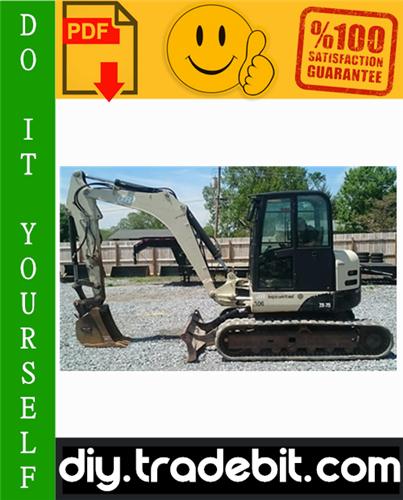 Thumbnail Ingersoll Rand ZX75 Utility Equipment Excavator Service Repair Manual Download