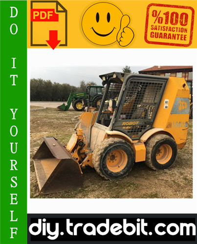 Thumbnail JCB Robot 185, 185HF, 1105, 1105HF Skid Steer Service Repair Manual Download