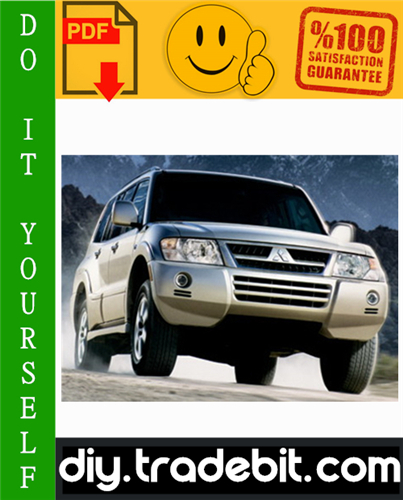 Thumbnail 2006 Mitsubishi Montero Service Repair Manual Download