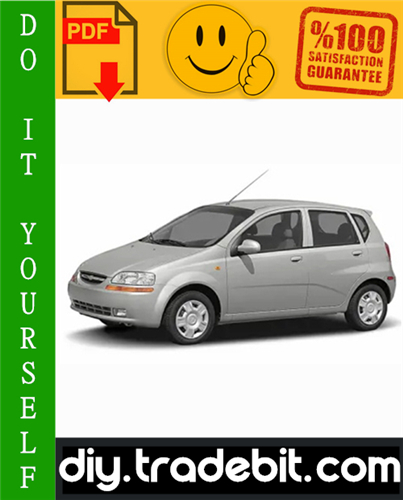 Thumbnail Chevy Chevrolet Aveo Service Repair Manual 2002-2010 Download