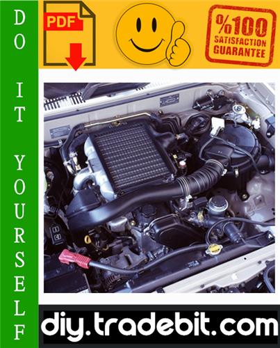 Thumbnail Toyota Hilux 1KZ-TE Engine Service Repair Manual Download