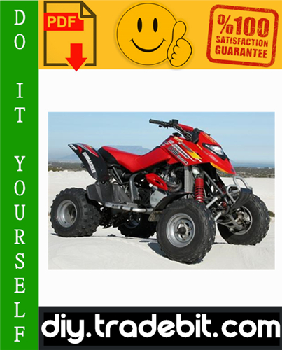 Thumbnail 2004 Bombardier Quest Traxter DS650 Outlander Rally ATV Service Repair Manual Download