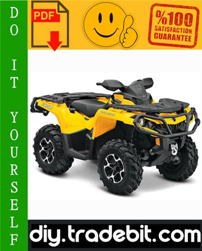 Thumbnail 2009 Can-Am Outlander 500 / 650 / 800 Series, Renegade 500 / 800 Series ATV Service Repair Manual Download
