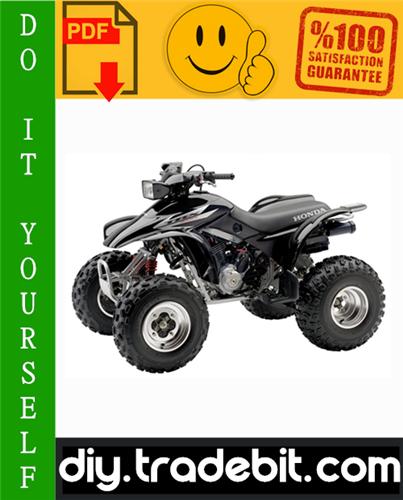 Thumbnail Honda TRX300 / TRX300FW FOURTRAX ATV Service Repair Manual 1995-2000 Download