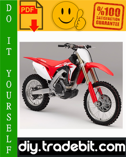 Thumbnail Honda CRF450R Motorcycle Service Repair Manual 2002-2003 Download