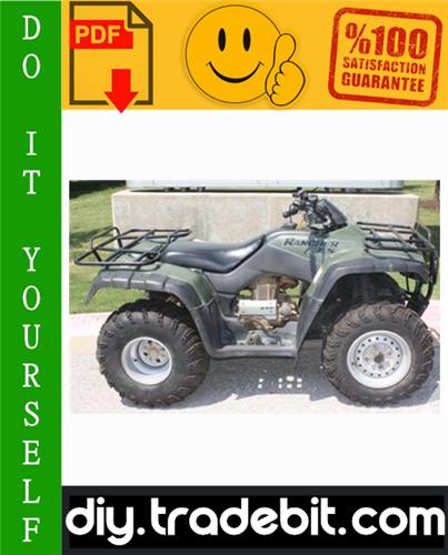 Thumbnail Honda TRX350TE / TRX350TM / TRX350FE / TRX350FM Fourtrax Rancher ATV Service Repair Manual 2004-2006 Download