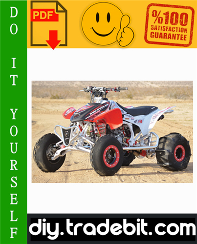 Thumbnail Honda TRX450R / TRX450ER ATV Service Repair Manual 2004-2009 Download