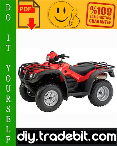 Thumbnail Honda TRX500FE / TRX500FM / TRX500TM Fourtrax Foreman ATV Service Repair Manual 2005-2006 Download