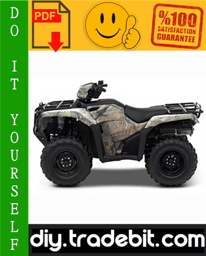 Thumbnail Honda TRX500FA / TRX500FGA Rubicon Foreman ATV Service Repair Manual 2005-2008 Download