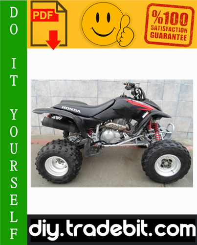 trx400ex service manual