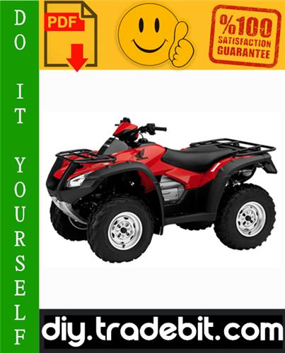 Thumbnail 2006 Honda TRX680FA / TRX680FGA ATV Service Repair Manual Download