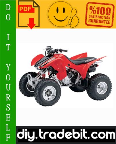 Thumbnail Honda TRX300EX / TRX300X ATV Service Repair Manual 2007-2009 Download