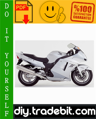 Thumbnail Honda CBR1100XX Blackbird Service Repair Manual 1999-2002 Download