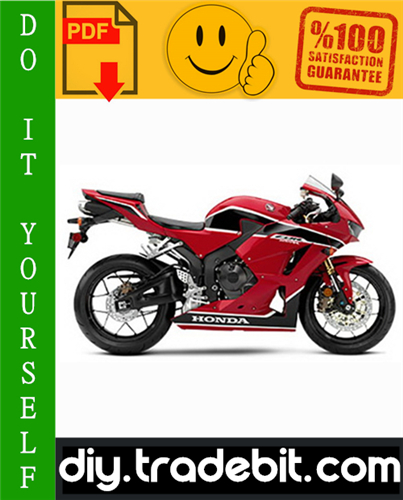 Thumbnail Honda CBR600RR Motorcycle Service Repair Manual 2003-2006 Download