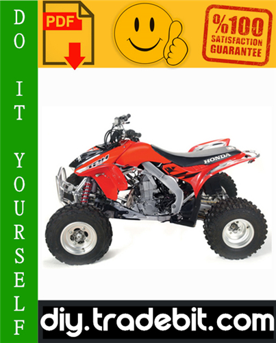 Thumbnail Honda TRX450R ATV Service Repair Manual 2004-2005 Download