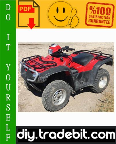 Thumbnail Honda TRX500FA Rubicon ATV Service Repair Manual 2001-2003 Download