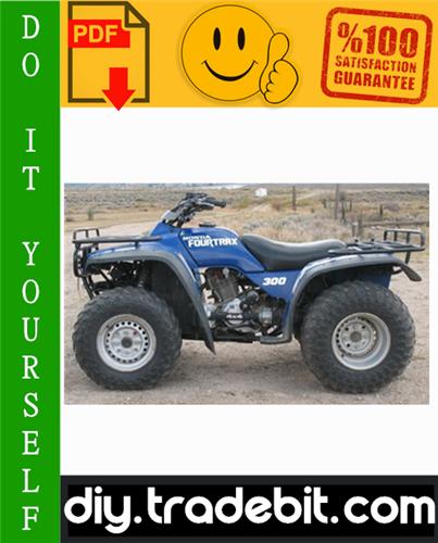 Thumbnail Honda TRX300 FOURTRAX / TRX300FW FOURTRAX 4x4 ATV Service Repair Manual 1988-1994 Download