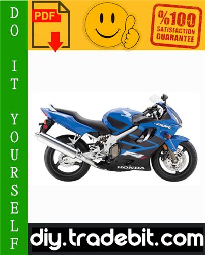 Thumbnail Honda CBR600F4i Motorcycle Service Repair Manual 2001-2003 Download