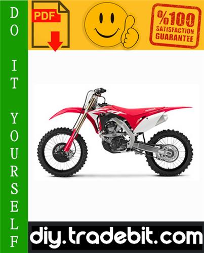 Thumbnail Honda CRF250R Motorcycle Service Repair Manual 2004-2009 Download