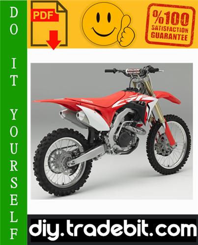 Thumbnail Honda CRF450R Motorcycle Service Repair Manual 2009-2010 Download