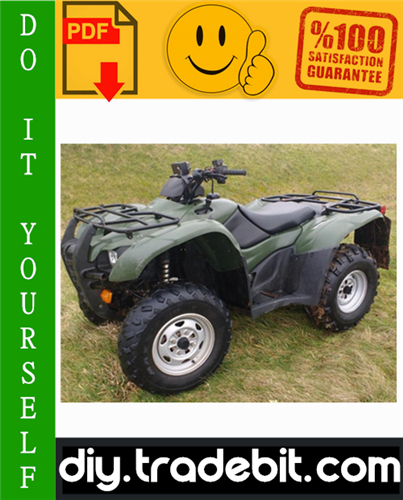 Thumbnail Honda TRX420FA / TRX420FPA Fourtrax Rancher AT ATV Service Repair Manual 2009-2011 Download