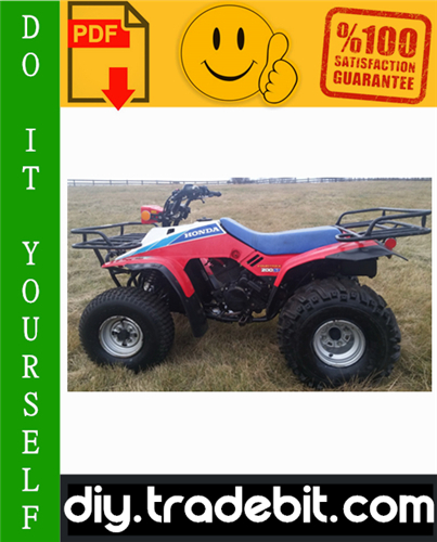 Thumbnail Honda TRX200SX Fourtrax ATV Service Repair Manual 1986-1988 Download