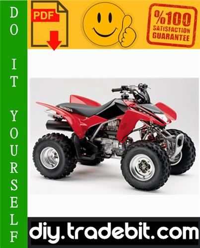 Thumbnail Honda TRX250EX Sportrax ATV Service Repair Manual 2001-2005 Download