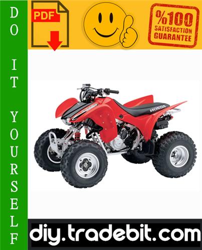 Thumbnail Honda TRX300EX Sportrax ATV Service Repair Manual 2001-2006 Download