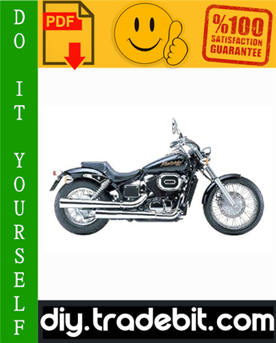 Thumbnail Honda VT750DC Shadow Spirit Motorcycle Service Repair Manual 2001-2003 Download