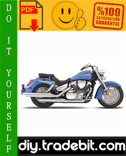 Thumbnail Honda VTX1300R / VTX1300S Motorcycle Service Repair Manual 2003-2007 Download