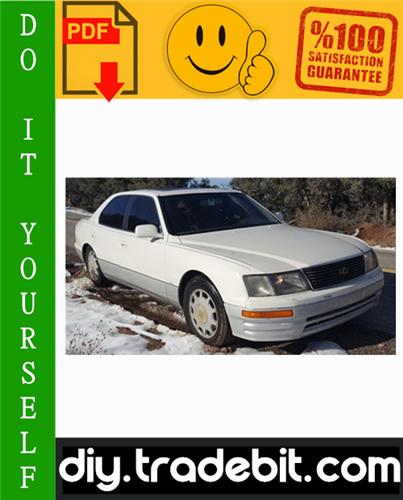Thumbnail Lexus LS400 Service Repair Manual 1998-2000 Download