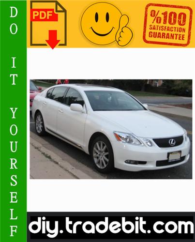 Thumbnail 2006 Lexus GS300 Service Repair Manual Download
