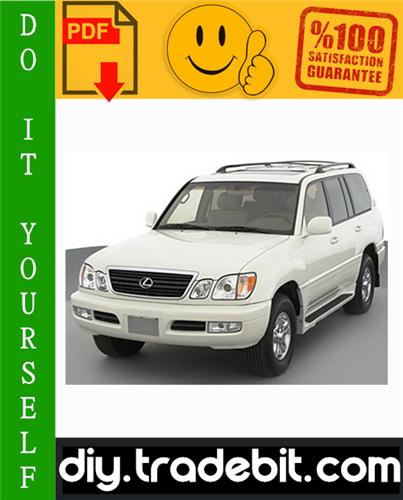 Thumbnail Lexus LX470 Service Repair Manual 2006-2007 Download