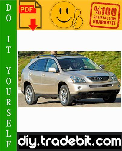 Thumbnail 2005 Lexus RX400H Service Repair Manual Download