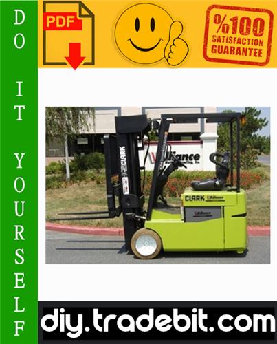Pay for Clark TMG12, TMG13, TMG15s, TMG15, TMG17, TMG18, TMG20, TMG20x, TMG25, EPG 15, EPG 18 Forklift Trucks Service Repair Manual Download