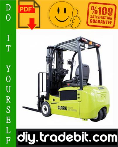 Pay for Clark CMP40D, CMP45D, CMP50SD, SF35D, SF40D, SF45D, CMP40L, CMP45L, CMP50SL, SF35L, SF40L, SF45L Forklift Trucks Service Repair Manual Download