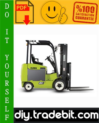 Pay for Clark ECX20, EPX20, ECX25, EPX25, ECX30, EPX30, ECX30x, ECX32 Forklift Trucks Service Repair Manual Download