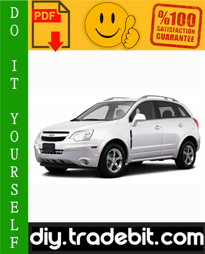 Chevrolet Captiva Sport Service Repair Manual 2008-2010 Download