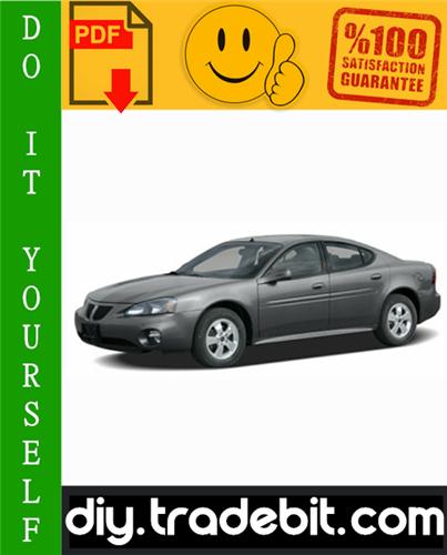 Pontiac Grand Prix Service Repair Manual 2004