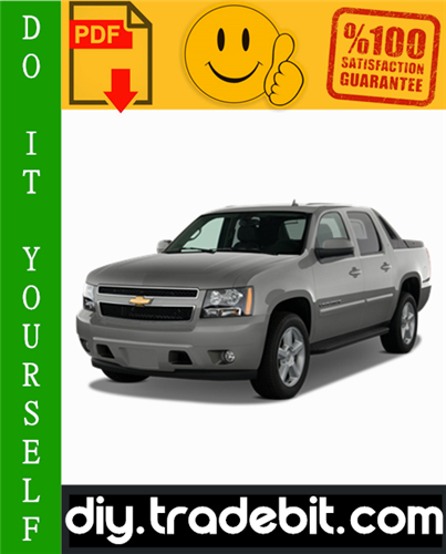 Chevy Chevrolet Avalanche Service Repair Manual 2002