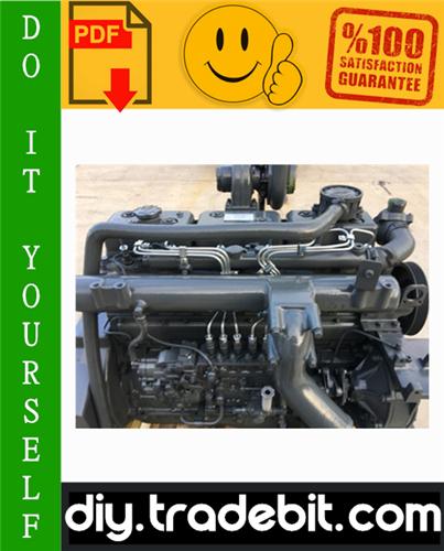 pay for daewoo doosan d1146, d1146ti, de08tis diesel engine service repair  manual download