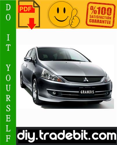 2003 Mitsubishi Grandis Service Repair Manual Download