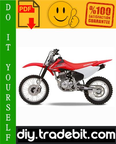 Honda Crf150f Motorcycle Service Repair Manual 2003