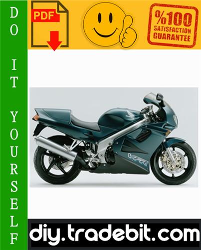 Honda Vfr750f Motorcycle Service Repair Manual 1990