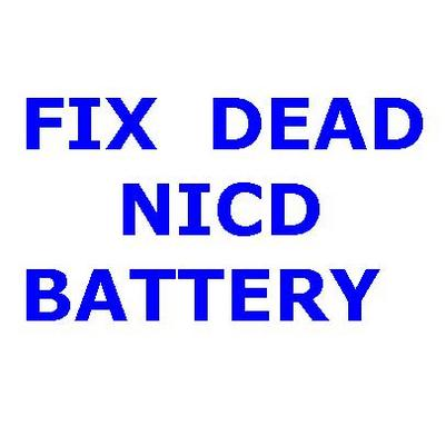 Pay for HOW TO REPAIR NICD BATTERY DIY GUIDE