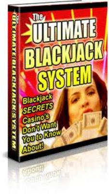 Pay for THE ULTIMUM BLACKJACK SYSTEM - WIN MONEY ONLINE