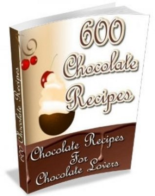 Pay for 600 Chocolate Recipes