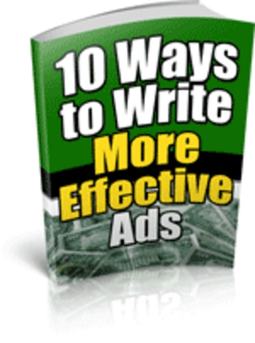 Pay for PLR Advertising Articles+10 Ways Better Ads+Bonus