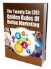 Thumbnail  The Twenty Six Golden Rules Of Online Marketing