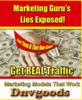 Thumbnail Marketing Gurus Lies Exposed E-Book With MRR